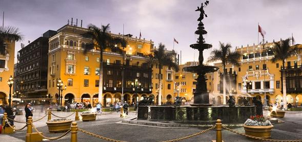 Bienvenida y City tour en Lima.