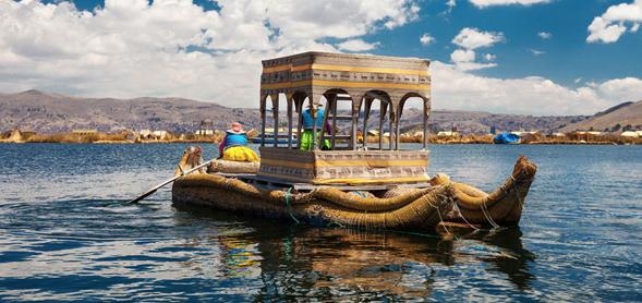 Tour en el Lago Titicaca: Isla de los Uros y Taquile